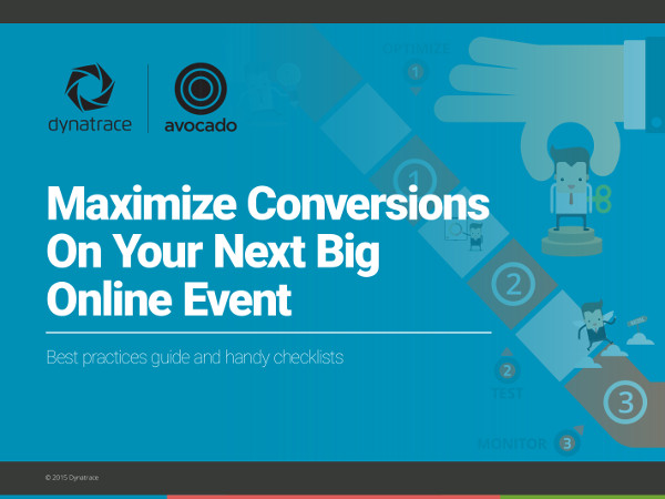 eBook cover, Maximizing conversions on your next big online event